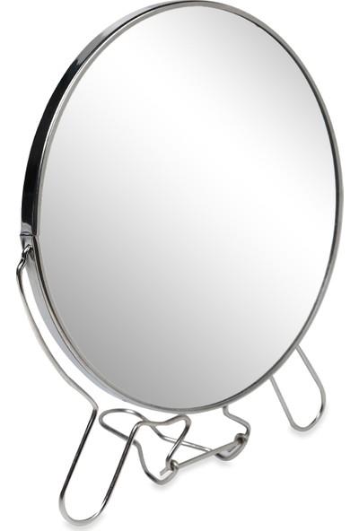 Makyaj Aynası Oval Çift Taraflı Büyüteçli 8 İnç