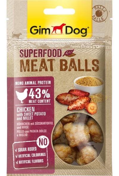 Gimdog Ödül Meatballs Tavuk Patates Darılı 70 gr