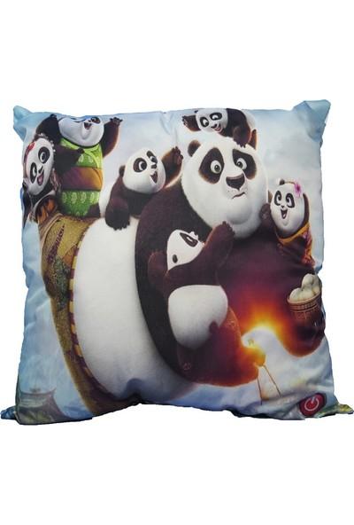 Kungfu Panda Led Işıklı Yastık