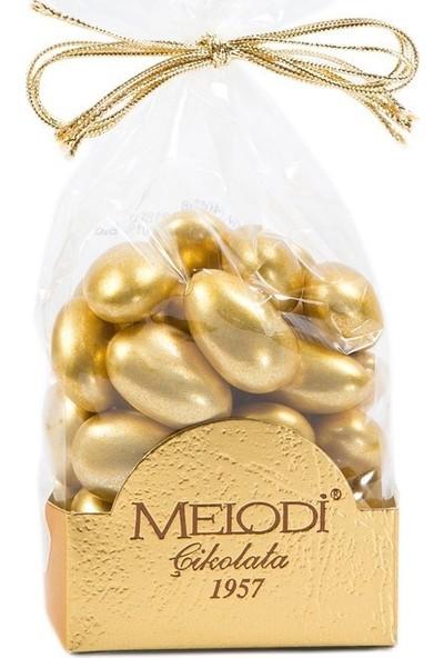 Melodi Çikolata Altın Renkli Badem Şekeri 150gr