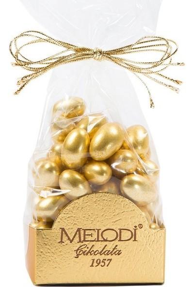 Melodi Çikolata Altın Renkli Fıstık Şekeri 150gr