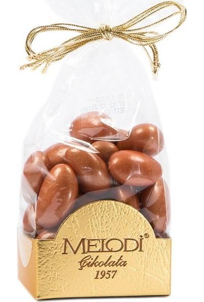 Melodi Çikolata Bronz Renkli Badem Şekeri 150gr