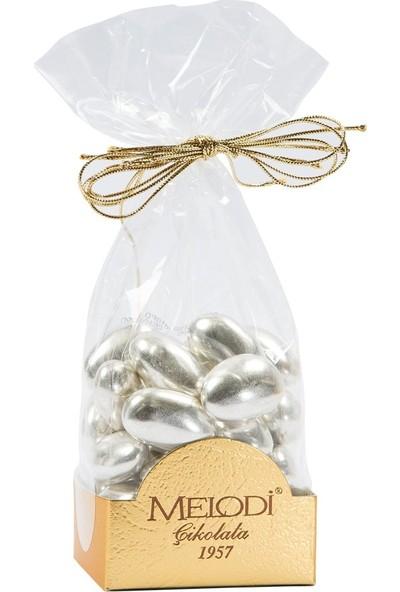 Melodi Çikolata Gümüş Kaplama Badem Şekeri 150gr
