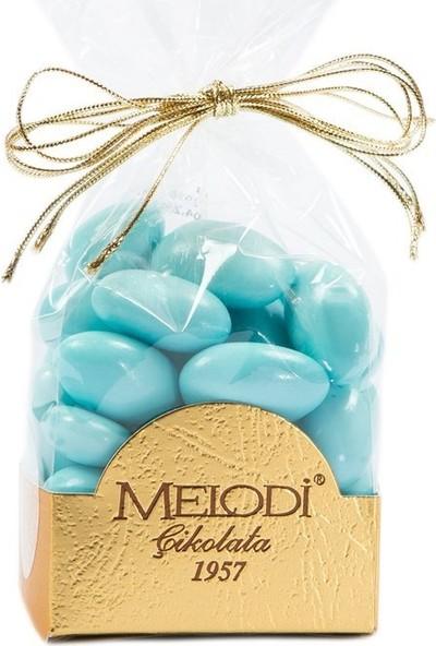 Melodi Çikolata Mavi Renkli Badem Şekeri 150 gr