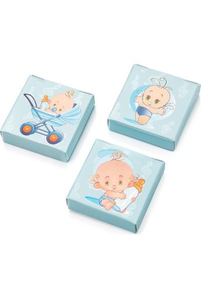 Melodi Çikolata Prens Fıstıklı Sütlü Çikolata 500gr - Erkek Bebek Çikolatası