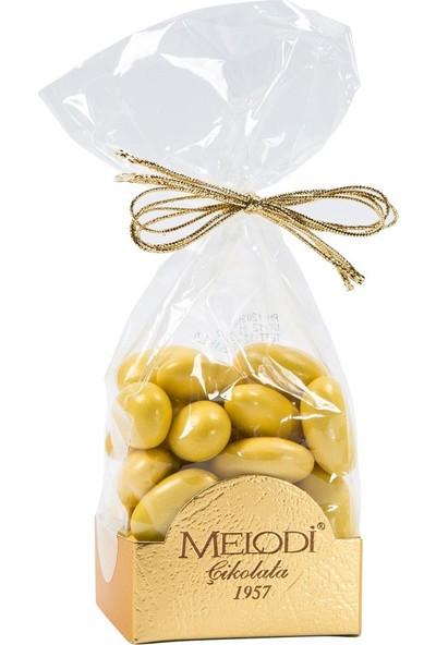 Melodi Çikolata Sarı Renkli Badem Şekeri 150gr