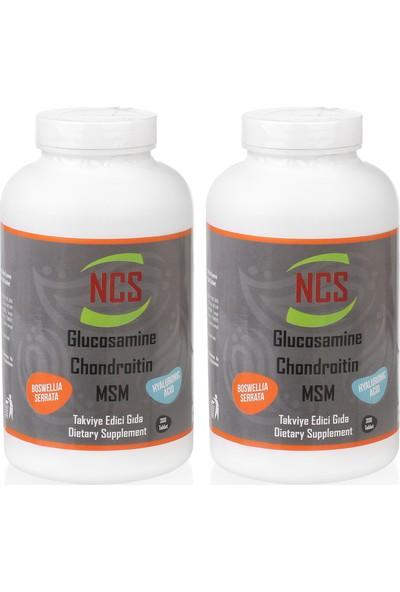 Ncs Glucosamine Chondroitin Msm Hyaluronic Acid 2 Kutu 600 Tablet