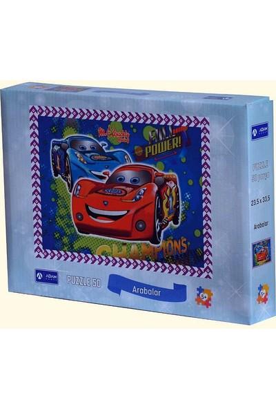 Adam Games Arabalar Puzzle