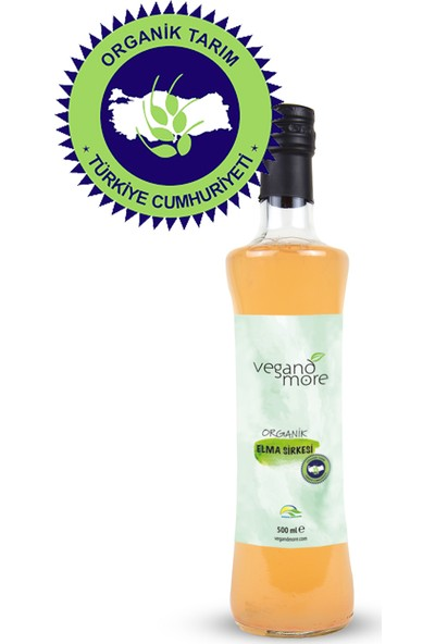Vegandmore Organik Elma Sirkesi 500 ml