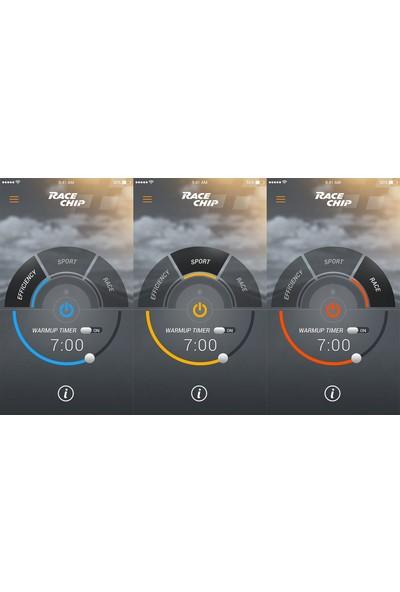 Race Chip RS Connect Audi Q3 (8U) 2011 Yılı Sonrası 2.0 TDI (150 HP/ 110 kW) için Bluetooth Kontrol'lü ChipTuning Seti