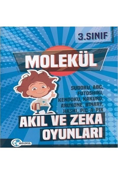 Molekül Yayınları 3. Sınıf Molekül Akıl Ve Zeka Oyunları