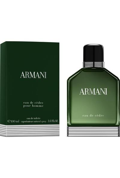 Giorgio Armani Eau De Cedre Pour Homme EDT 100 ml Erkek Parfüm