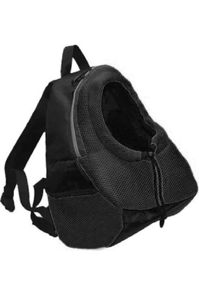 Miapet Anakucağı Kedi-Köpek Taşıma Çantası Siyah
