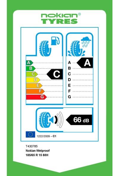 Nokian 185/65 R15 88H Wetproof Yaz Lastiği (Üretim Yılı: 2020)