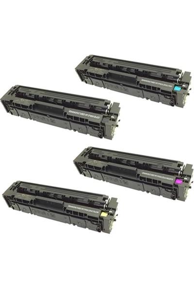 Powertiger For HP Color Laserjet M252N 4 Renk Cmyk Chipli Muadil Toner