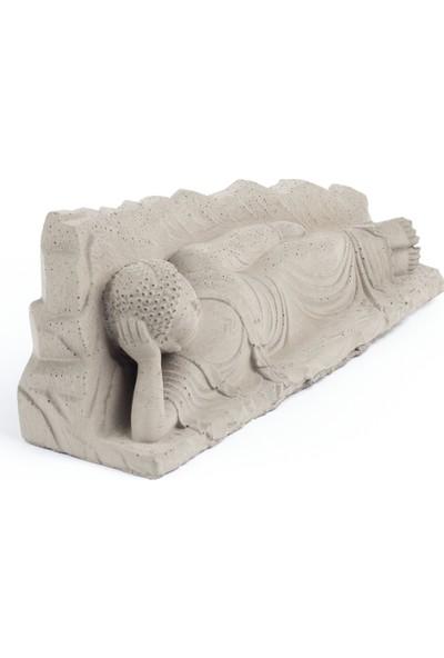 Skal Collective Tembel Buddha Beton Heykel