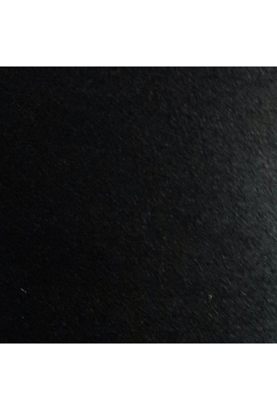 Byozras İnce Keçe Kumaş - Yarım Metre - Siyah
