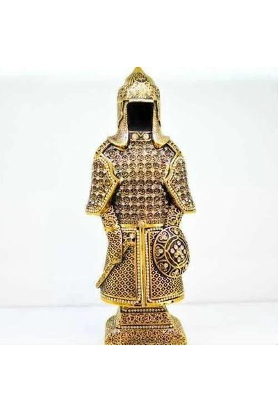 Derkan Esma-Ül Hüsna Zırhlı Altın Biblo Swaroski Taşlı