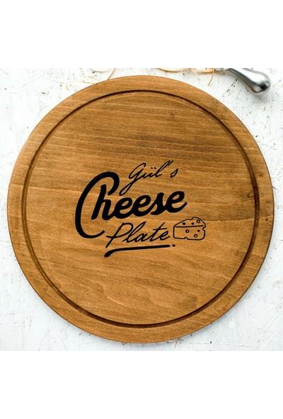 Goodbutwood Say Cheese Kişiye Özel Ahşap Peynir Tepsisi