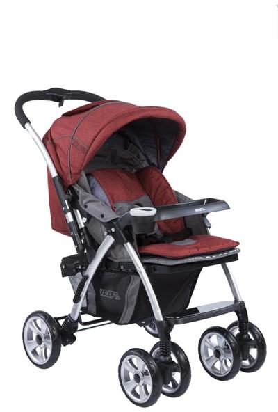 Kraft Evo Plus Bebek Arabası - Kırmızı