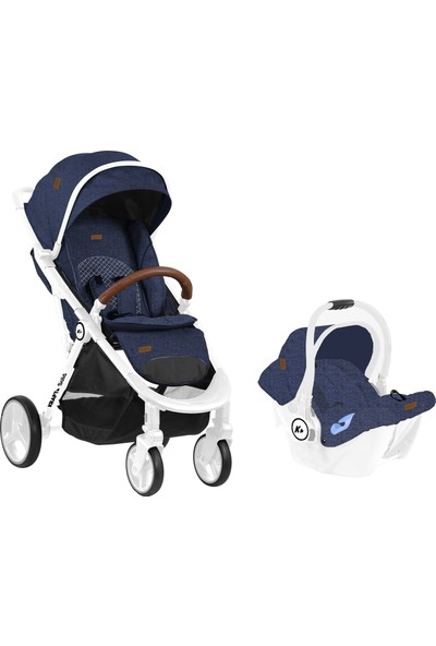 Kraft Solid Travel Bebek Arabası - Lacivert