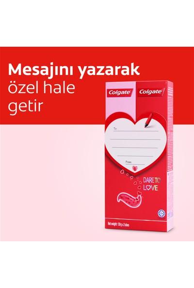 Colgate Dare to Love Diş Macunu Kalpli 2 Adet x 130 gr