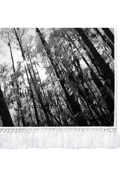 Dekoreko İnci Halı Dijital Saçaklı 1902 Desen 1 80 x 120
