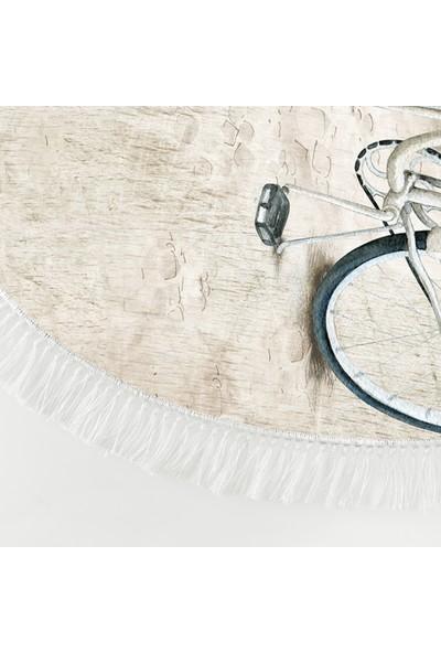 Dekoreko İnci Halı Dijital Saçaklı Oval 1850 Desen 1 120 x 180