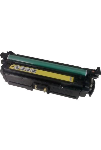 Renkli Toner Hp 504A-Ce252A 7.000 Sarı Muadil Toner 507A-Ce402A-Crg723