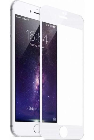 Soffany Apple iPhone 7 - 8 Plus 5D Kavisli Ekran Koruyucu