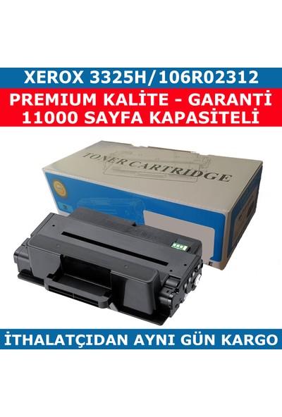 Renkli Toner Xerox 3325H 106R02312 Siyah Muadil Toner 11.000