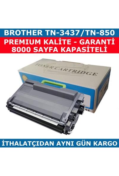 Renkli Toner Brother Tn-3437 Tn-850 Siyah Muadil Toner 8.000
