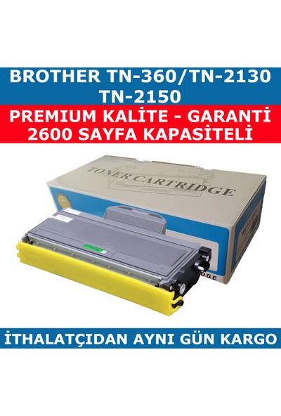 Renkli Toner Brother Tn-360 Siyah Muadil Toner Tn-2130 Tn-2150 2.600
