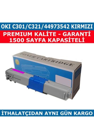Renkli Toner Okı C301 - C321 - 44973542 Kırmızı Muadil Toner 1.500