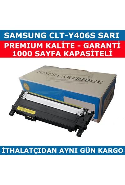 Renkli Toner Samsung Clp365-Clp360-Clt-Y406S Sarı Muadil Toner 1.000