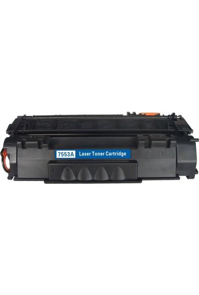 Renkli Toner Hp 53A-Q7553A Muadil Toner 3000 Canon Crg715