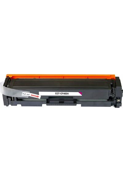 201A-Cf403A Kırmızı Muadil Toner 1.400