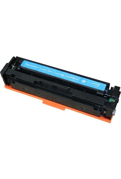 Renkli Toner 201A-Cf401A Mavi Muadil Toner 1.400