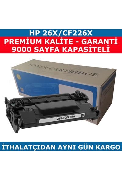 Renkli Toner Hp 26X-Cf226X Siyah Muadil Toner 9.000