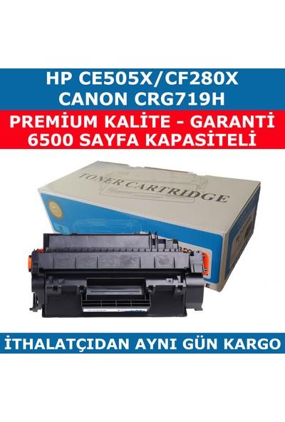 Renkli Toner Hp 05X-Ce505X-80X-Cf280X Siyah Muadil Toner 6.500 Crg719H