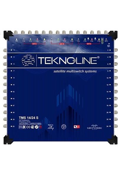 Teknoline Uydu Dagıtım Santrali - Multıswıtch - 14 /24 S - 14 Giriş - 24 Çıkış Sonlu