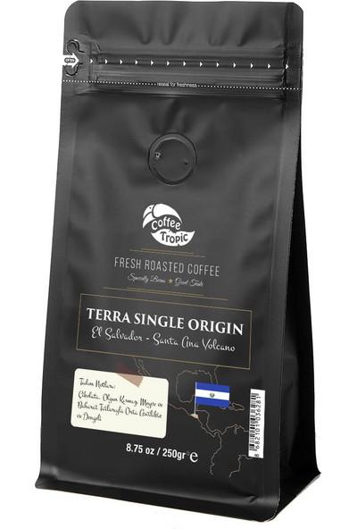 Coffeetropic Terra Single Origin El Salvador Santa Ana Volcano 250 Gr