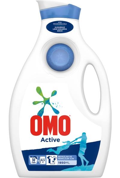 Omo Active Sıvı Çamaşır Deterjanı 4 x 30 Yıkama
