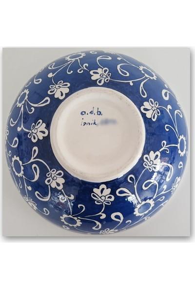 Adb Çini 25 cm Çini Kase