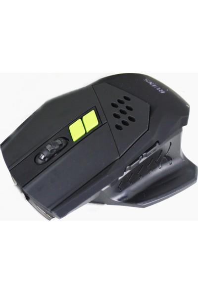 Ruins Rx9 Profesyonel Programlanabilir Oyuncu Mouse 3200Dpi