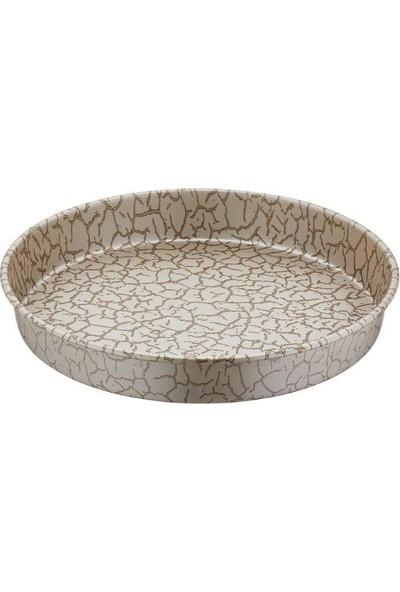 Papilla Desert 30 cm Derin Fırın Tepsi Magma Desenli