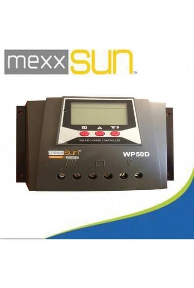 Mexxsun 12-24-48 Volt 60 Amper Dijital Akü Şarj Kontrol Cihazı