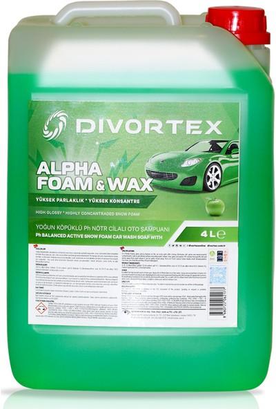 Divortex Alpha Foam Ph Nötr Cilalı Oto Şampuanı 4 Lt.