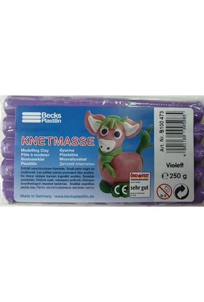 Becks Kurumayan Oyun Hamuru Klasik 250gr Violet Non Toxic