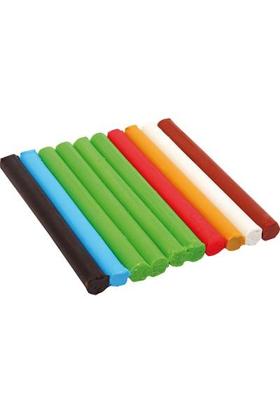 Becks Creative Oyun Hamuru Çubuk 10 Renk 150gr